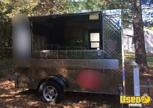 2013 - 8' x 10' Cart Concepts Stainless Steel Food Concession Trailer for Sale in Michigan!!!