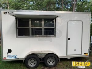 All Aluminum 2017 - 7' x 14' Legend Street Food Vending Concession Trailer for Sale in Michigan!