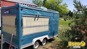 Very Clean Used 2006 8' x 14' Street Food Concession Trailer for Sale in Michigan!