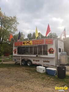 Well-Equipped Used 2004 United 24' Food Concession Trailer for Sale in Michigan!