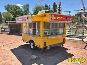 Used 8' x 10' Street Food Festival Concession Trailer / Mobile Food Unit for Sale in Michigan!