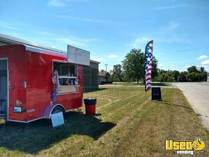 Lightly Used 2020 Continental Cargo TailWind 6' x 10' Food Concession Trailer for Sale in Michigan!