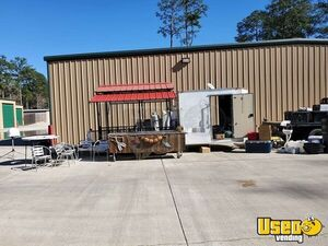 24' Hybrid Seafood Boil Tailgating Concession Trailer for Sale in Mississippi!!!
