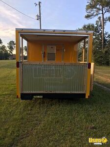 2018 - 8' x 16' Concession Trailer with Porch for Sale in Mississippi!!!