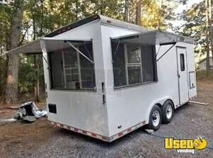 Nicely-Equipped 2003 - 7' x 20' Mobile Food Concession Trailer for Sale in Mississippi!