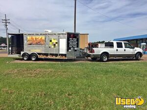 2014 BBQ Concession Trailer with Porch w/ Truck for Sale in Mississippi!!!