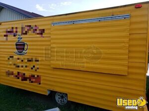 Very Clean 7.5' x 18' Multi-Use Food Concession Trailer Mobile Food Unit for Sale in Missouri!