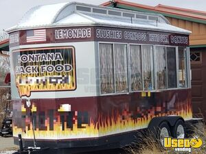Lightly Used 2018 - 8.6' x 18' Boss Hogg Food / Beverage Concession Trailer for Sale in Montana!