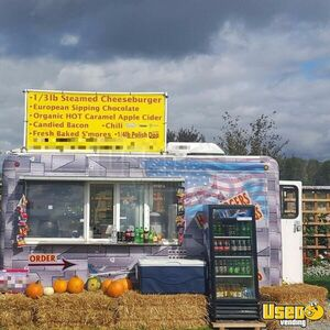 Turnkey Ready 2003 - 7' x 14' Fibrecore Kitchen Food Concession Trailer for Sale in New Hampshire!