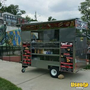 2015 Compact Food Concession Trailer/Street Food Cart Trailer for Sale in New Jersey!