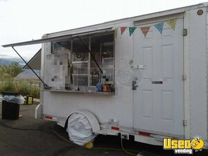 2006 - 7' x 13' CS 14 Mobile Kitchen Unit / Used Food Concession Trailer for Sale in New Mexico!