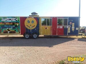 Eye-Catching 8' X 30 Catering and Food Concession Trailer for Sale in New Mexico!