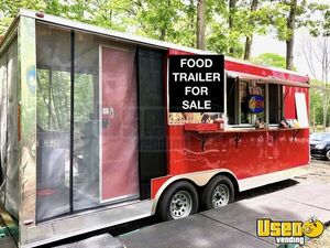 2018 - 7.5' x 25' BBQ Concession Trailer with Porch for Sale in New York!!!