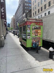 Turnkey Ready Permitted Street Food Concession Trailer with Toyota 4Runner for Sale in New York!