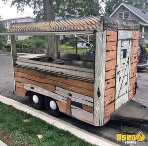 Very Cute 2016 Used Street Food Kitchen Concession Trailer for Sale in North Carolina!