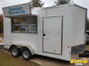 Barely Used 2019 - 7' x 14' Rock Solid Cargo Food Concession Trailer for Sale in North Carolina!