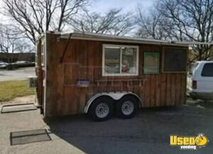 Street Biz Ready 8' x 18' Used Food Concession Trailer / Mobile Kitchen for Sale in North Carolina!