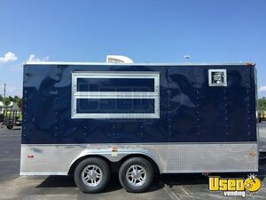 Never Used 2015 7' x 16' Horton Hybrid Gorgeous Food Concession Trailer for Sale in North Carolina!