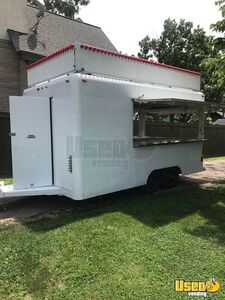 Well-Maintained 7.5' x 15' Waymatic Food Concession Trailer / Mobile Food Unit for Sale in Ohio!