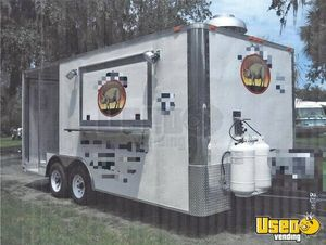 8.5' x 22' Food Concession Trailer with Porch for Sale in Ohio!!!