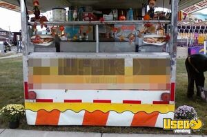 Used Food Concession Trailer with Ford E-350 Box Truck / Mobile Food Unit for Sale in Ohio!