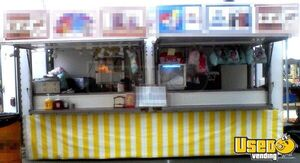 Used 8' x 18' Mobile Kitchen Unit / Ready to Work Food Concession Trailer for Sale in Ohio!