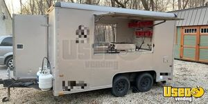 8' x 12' Wells Cargo Used Food Concession Trailer / Mobile Kitchen Unit for Sale in Ohio!