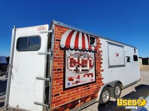 Well-Built 2015 Cargo Mate 8.5' x 20' Food Concession Trailer for Sale in Oklahoma!