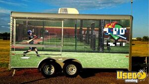 2014 - 8.5' x 16' Cargo Craft Concession Trailer for Sale in Oklahoma!!!