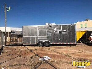 2016 - 8.5' x 24' Food Concession Trailer for Sale in Oklahoma!!!
