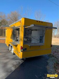 2007 8.6' x 16' Used Very Clean Food Concession Trailer for Sale in Oklahoma!