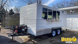 2019 - 7.5' x 15.5' Health Department Approved Food Concession Trailer for Sale in Oklahoma!!!