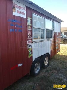 2019 - 8' x 16' Licensed Street Food Concession Trailer for Sale in Oklahoma!!!