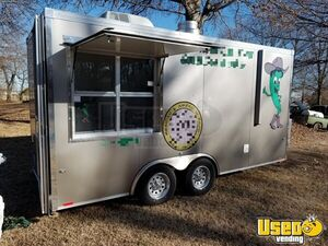2016 - 7' x 16' Food Concession Trailer for Sale in Oklahoma!!!