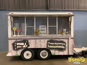 Licensed 8' x 13' Street Food Concession Trailer / Mobile Street Food Vending Unit for Sale in Oklahoma!
