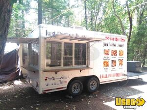8' x 15.9' Food Concession Trailer with Porch for Sale in Oregon!!!