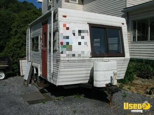Vintage Camper Conversion Concession Trailer with 2018 Kitchen for Sale in Pennsylvania!