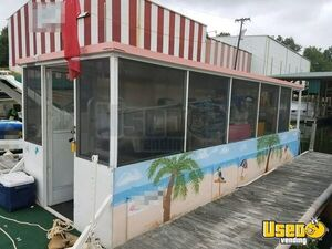 2008 Feista 26' Tri-toon Food Concession Boat / Used Kitchen Boat for Sale in South Carolina!