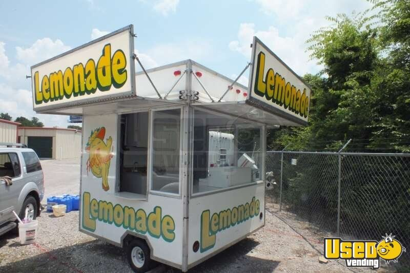 8 X 8 Lemonade Concession Trailer Small Carnival Trailer