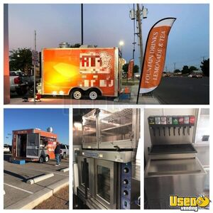 2012 - 8' x 16' Diamond Cargo Tandem Food Concession Trailer Turnkey Business for Sale in Texas!