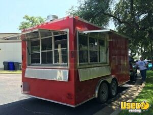 2013 - 8.5' x 16' Food Concession Trailer for Sale in Texas!!!