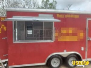 2018 Food Concession Trailer/Used Mobile Food Unit for Sale in Texas Ready for Kitchen Install!