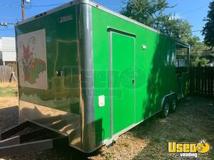 2018 8.5' 24' SDG Food Concession Trailer with Porch for Sale in Texas Very Clean & in Great Shape!