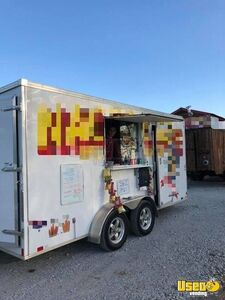 2017 - 6.5' x 13' United Food Concession Trailer / Turnkey Mobile Food Business for Sale in Texas!