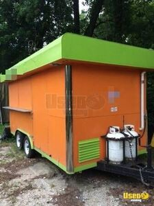 2004 - 6.5' x 13.5' Well-Maintained Mobile Kitchen Food Concession Trailer for Sale in Texas!