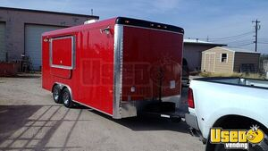 2020 8.5' x 18' NEW Custom Built to Order Food Concession Trailer for Sale in Texas- All NSF!!!
