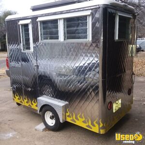 Compact 2007 - 4' x 8' Food Concession Trailer / Ready to Work Mobile Food Unit for Sale in Texas!!!