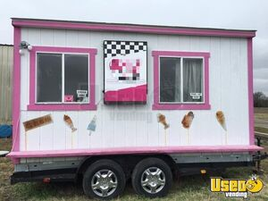 Fully Self-Contained 6' x 14' Food Concession Trailer/Very Cute Mobile Food Unit for Sale in Texas!