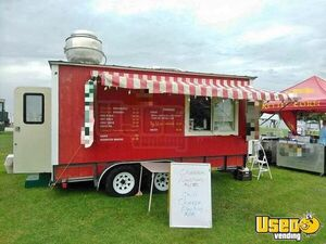 Clean Food Concession Trailer / Ready to Work Mobile Kitchen Unit for Sale in Texas!