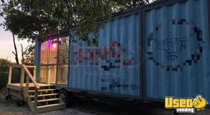 Ready to Outfit 2005 - 20' Shipping Container Basic Concession Trailer for Sale in Texas!